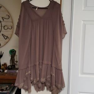 Free People Swimsuit Coverup / Sheer Dress